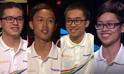 Điểm danh 4 thí sinh góp mặt tại chung kết Đường lên đỉnh Olympia 2018