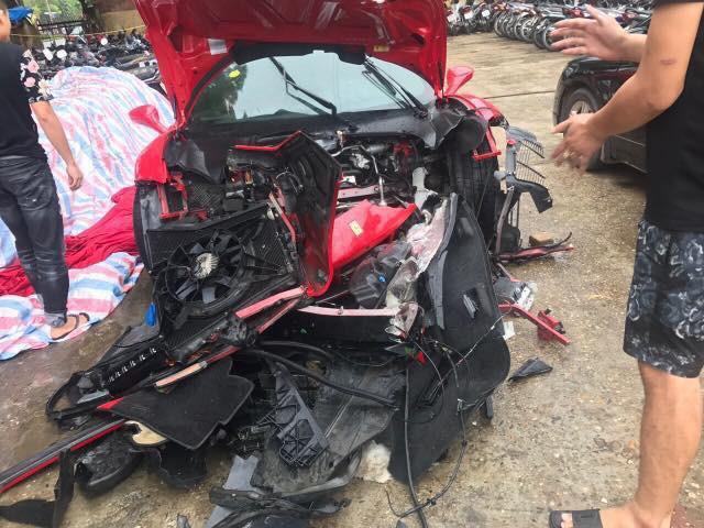 Siêu xe 15 tỷ của Tuấn Hưng gặp tai nạn nát đầu ở Phú Thọ - 3