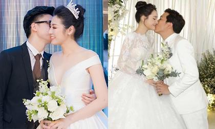 Điểm lại 9 lễ cưới hoành tráng của sao Việt được tổ chức trong năm 2018