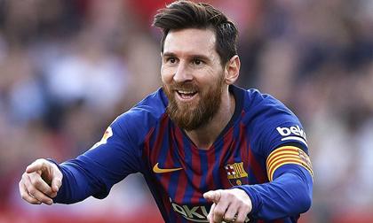 Messi lại 'lên thần', vùi dập Sevilla trong thất vọng