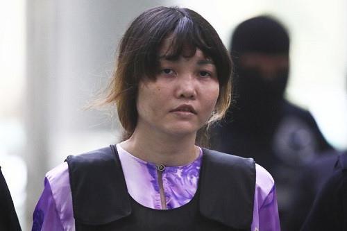 Bo Tu phap de nghi Malaysia tra tu do cho Doan Thi Huong hinh anh 1