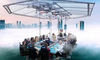 14 nhà hàng kỳ lạ trông như ở thế giới khác