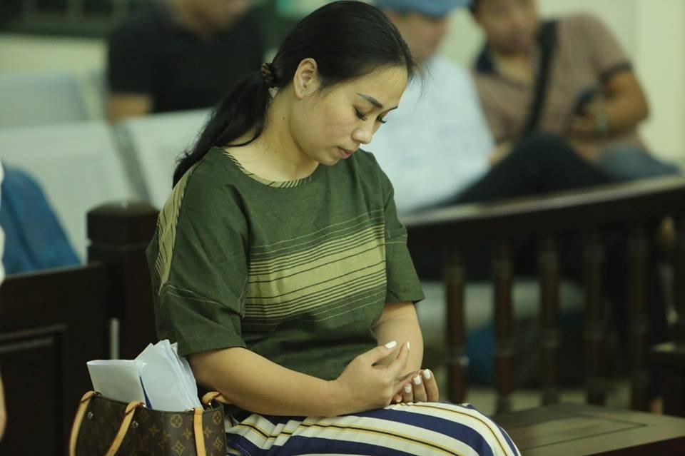 Bị cáo Nguyễn Thị Vân.