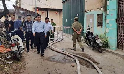 Cháy kinh hoàng ở Hà Nội làm 8 người chết và mất tích