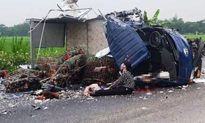 Xe tải tông trực diện vào nhau trên đường nối 2 cao tốc, tài xế tử vong thương tâm