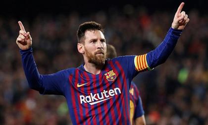 Messi ghi bàn thắng thứ 600 cho Barca, Liverpool nguy to
