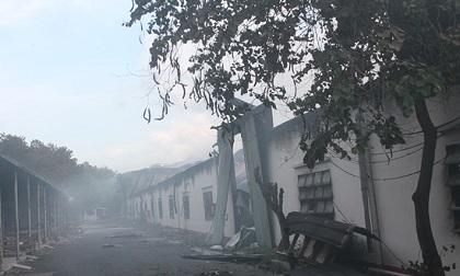 Đồng Nai: Cháy lớn thiêu rụi nhà xưởng rộng hàng trăm mét vuông