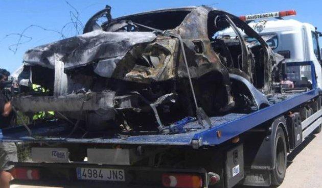 Antonio Reyes đã lái xe với tốc độ 237km/h trước khi gặp tai nạn thảm khốc - 2