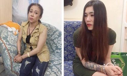 Gia Lai: Bắt 2 'kiều nữ' buôn bán ma túy cùng 8 con nghiện