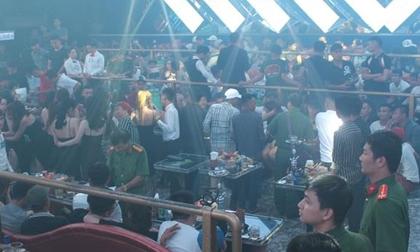 Phát hiện hàng trăm người sử dụng ma túy trong quán bar