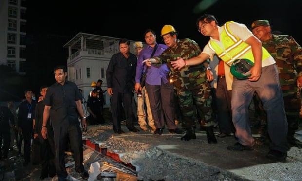 Sập nhà 7 tầng khiến 28 người chết: Campuchia bắt nhà thầu TQ - 1