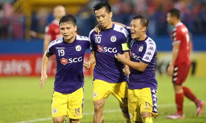 Chung kết lượt đi AFC Cup 2019: Văn Quyết tỏa sáng, Hà Nội FC rộng cửa vô địch