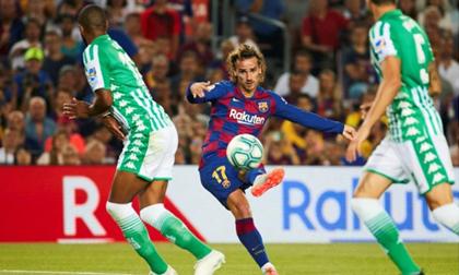 Griezmann lập cú đúp, Barca thắng trận đầu tiên ở mùa giải mới