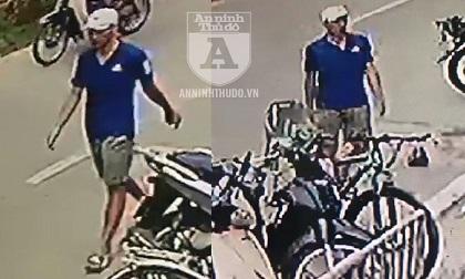Ngang nhiên lấy trộm xe đạp hơn chục triệu đồng trước cửa trường mầm non