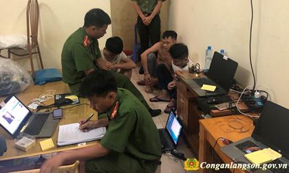 Bắt 11 người Trung Quốc sang Việt Nam lừa đảo qua mạng