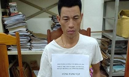 Bắt đối tượng 'xách' thuê 1kg ma túy với giá 20 triệu đồng