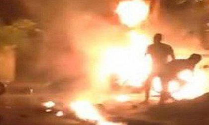 Kon Tum: Người chồng tưới xăng lên vợ đang mang bầu châm lửa đốt đã tử vong