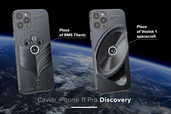NÓNG: iPhone 11 Pro đính mảnh vỡ tàu vũ trụ và tàu Titanic, giá gần tỷ đồng - 1