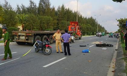 Cụ ông 82 tuổi đi xe máy tông vào gốc cây, tử vong tại chỗ
