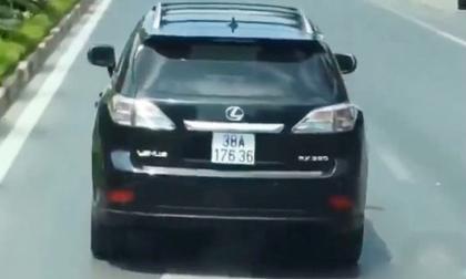Tài xế Lexus lên tiếng về hành vi chặn đầu xe cứu hỏa