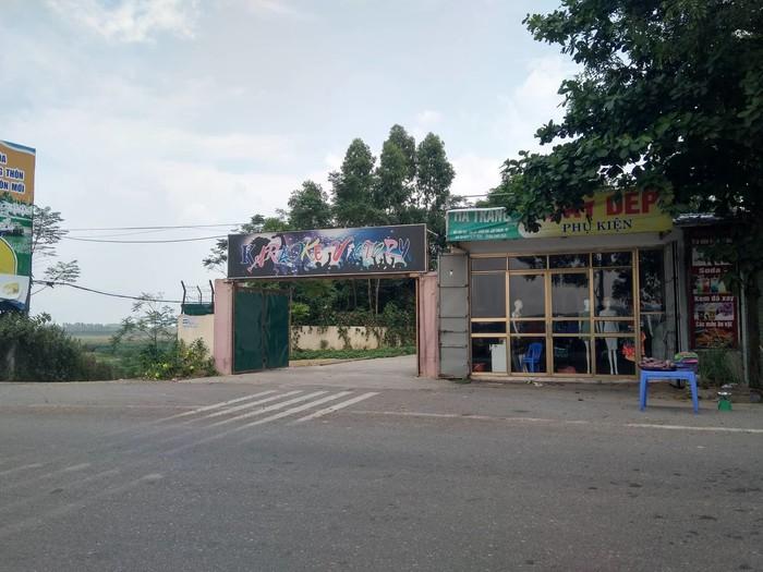 Quán karaoke nơi Nguyễn Thế Hà làm chủ.
