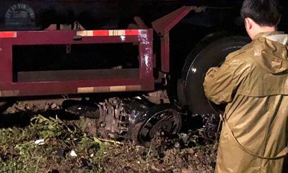 Thanh Hóa: Container cuốn xe máy vào gầm khiến 1 người chết tại chỗ