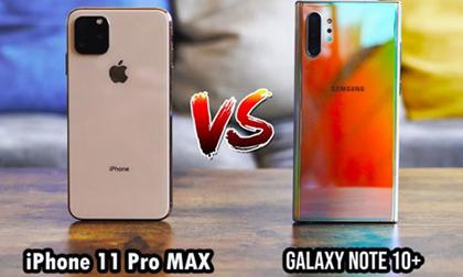 'Đọ pin' iPhone 11 Pro Max và Galaxy Note 10+: Ai bền bỉ hơn?