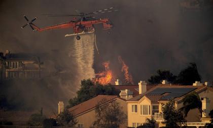 Cháy rừng ở California, hàng trăm ngàn người phải sơ tán