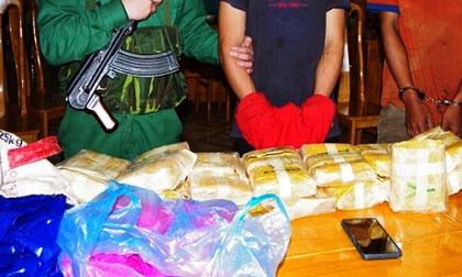 Phá đường dây ma túy xuyên biên giới lớn nhất Quảng Bình từ trước đến nay