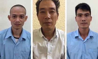 Nhóm đối tượng gây ra hàng chục vụ cướp giật tại Thủ đô