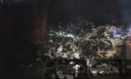 TP HCM: Phát hiện người đàn ông tử vong vùi trong đống rác
