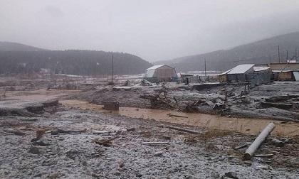 Vỡ đập ở mỏ vàng Nga, 13 người mất mạng