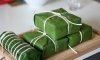 Cách gói bánh chưng bằng lá chuối đơn giản và thơm ngon