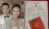 Câu chuyện tình đằng sau giấy đăng ký kết hôn của cô dâu 89, chú rể 99 gây 'sốt' MXH