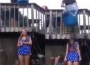 Thực hư clip cô gái trẻ chết vì trò dội nước đá lên người