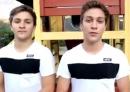 Clip 'dội nước đá' sáng tạo bất ngờ của anh em sinh đôi người Đức