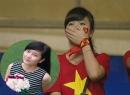 Truy tìm fan nữ rơi nước mắt khi U19 Việt Nam thất bại