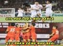 Ảnh chế chiến thắng của U23 Việt Nam
