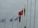 Quốc kỳ tổ quốc Việt Nam đã tung bay tại Asiad 17