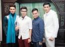 Nghệ sỹ Việt đến ủng hộ Nam Vương Châu Á diễn thời trang tại Việt Nam
