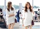 Kiều nữ Yoona SNSD 'nổi bần bật' tại sân bay với thời trang lạ mắt