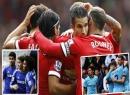 M.U, M.C và Chelsea thắng trận; Liverpool & Arsenal hòa derby