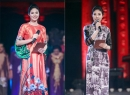 Hoa hậu Ngọc Hân thay 17 áo dài trong đêm diễn