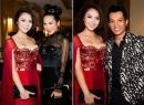 Hoa hậu Jennifer Chung xinh tươi hội ngộ dàn ca sĩ nỗi tiếng hải ngoại