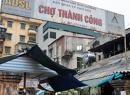 'Chợ Thành Công mới sẽ đảm bảo mô hình chợ truyền thống'