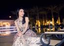 Thủy Tiên lộng lẫy đi dự tiệc ở Dubai