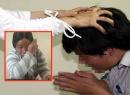 Màn kịch của người vợ siết cổ chồng bằng tay và dây điện thoại