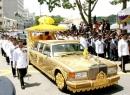 Limousine dát vàng 298 tỷ đồng của quốc vương Brunei