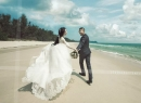 Hé lộ ảnh cưới hiếm hoi của cặp đôi Quỳnh Nga - Doãn Tuấn