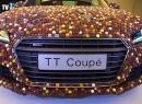 Clip: Chiếc xe sang Audi ngọt ngào nhất thế giới